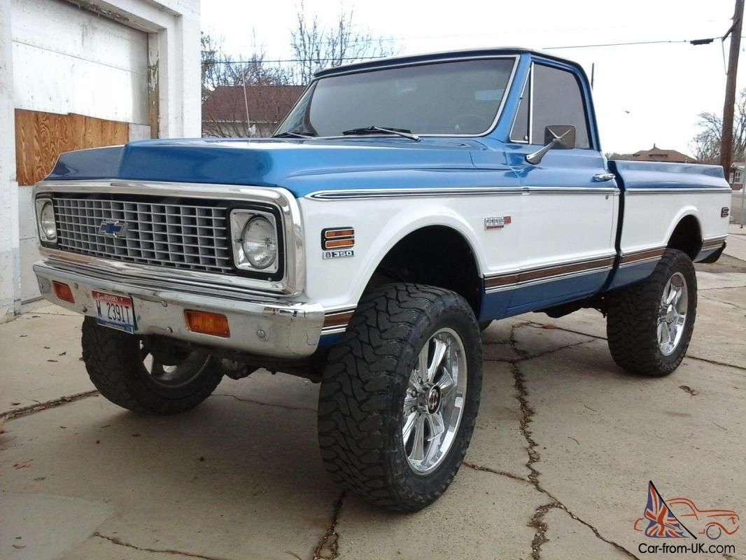 All Chevy 1980 chevy k10 : Image result for 1971 chevy c20 white | Lifted trucks | Pinterest ...