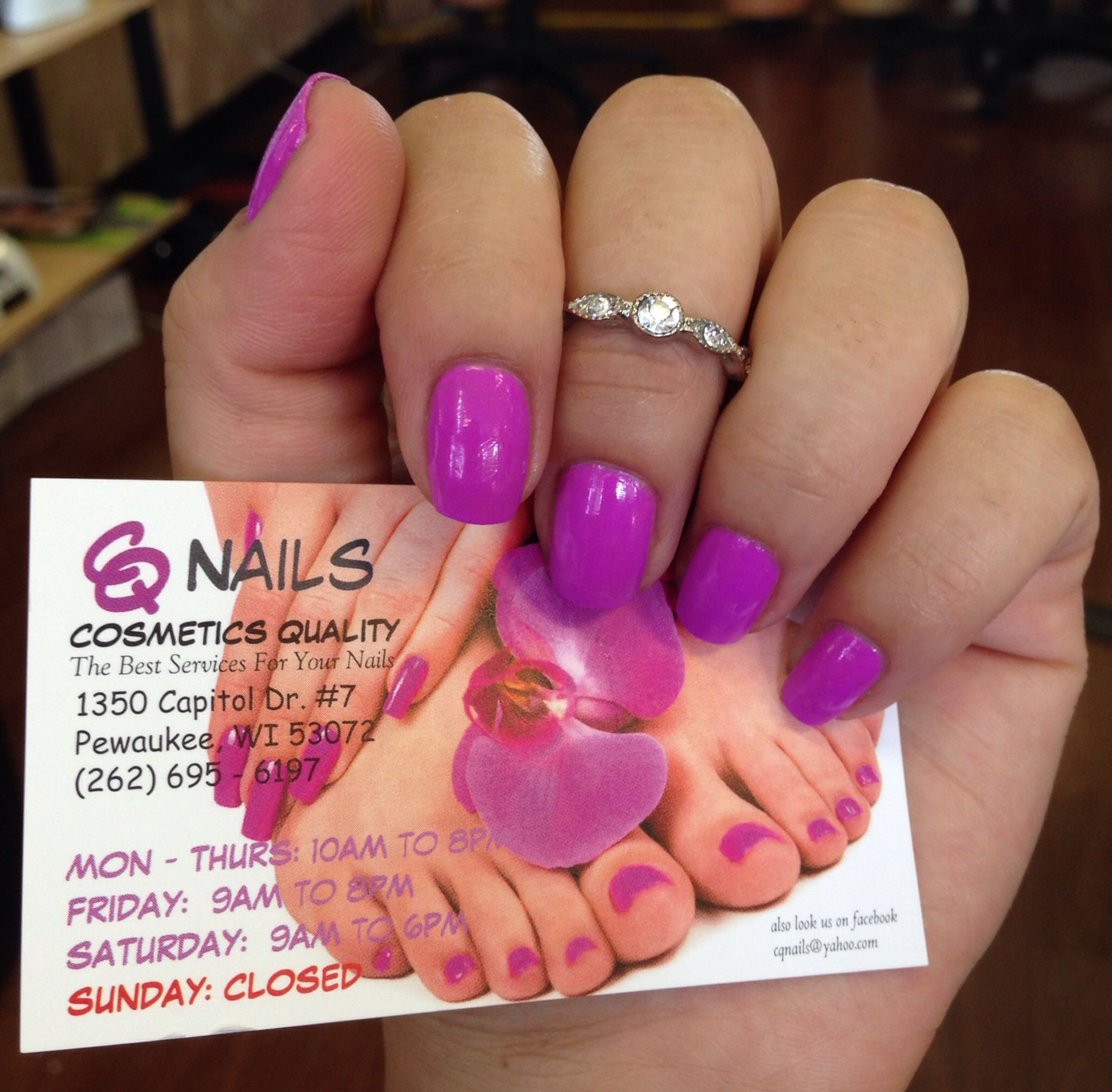 My New Business Card Nails By Me Pinterest Business Cards