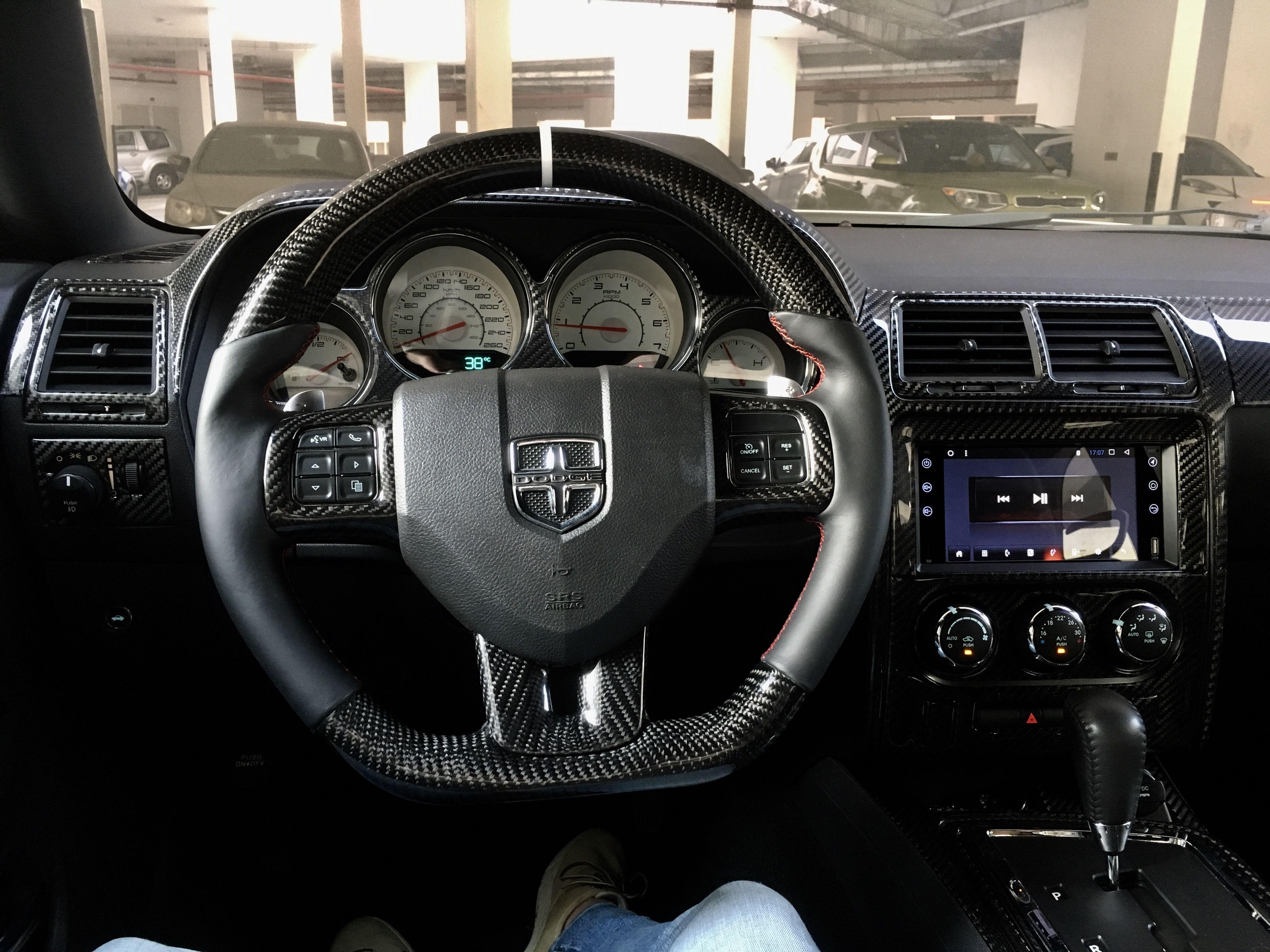 Dodge Challenger Dodge Challenger Custom Dodge Challenger Steering Wheel