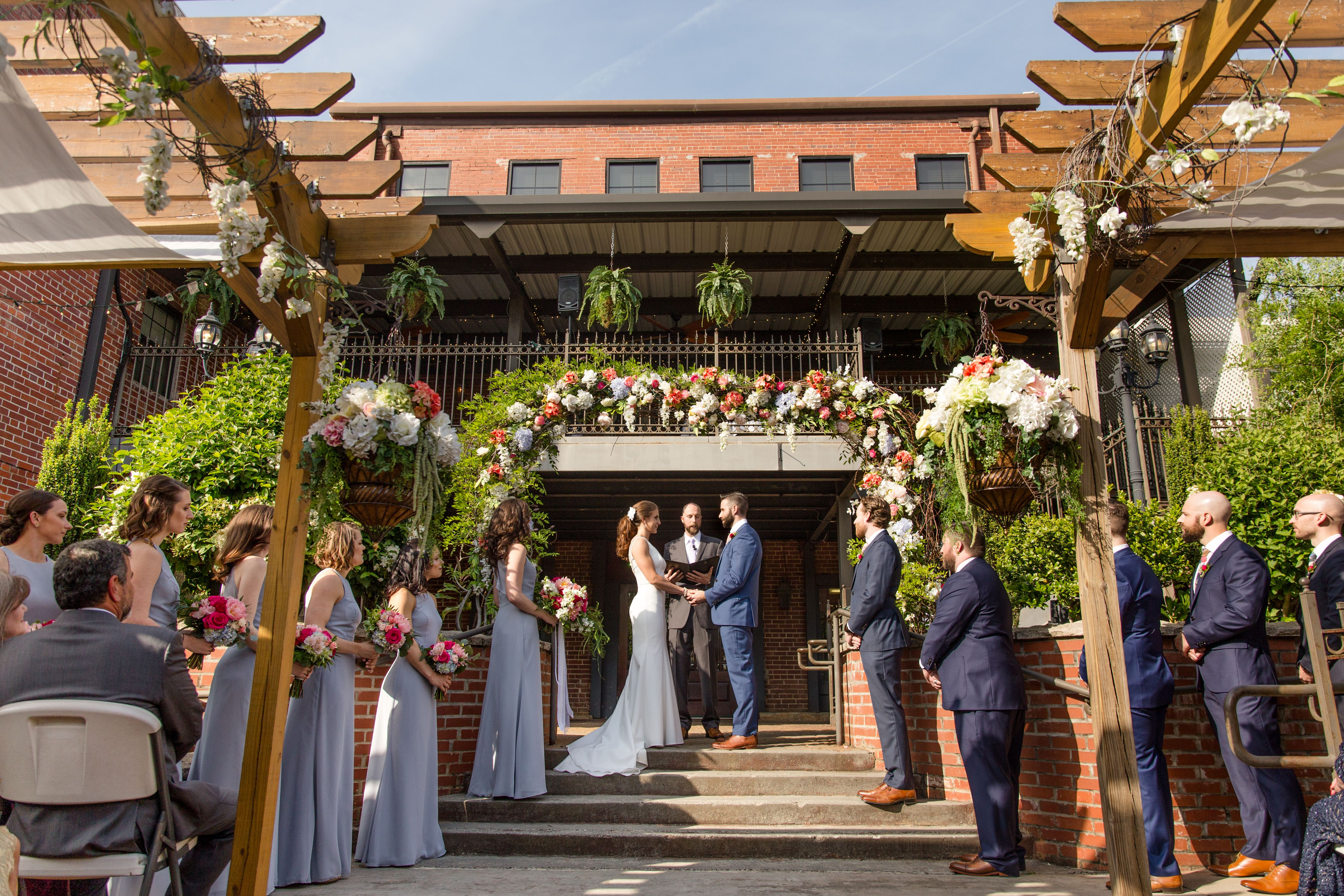 The Wedding Ceremony Site At The Conservatory At Waterstone Is A Gorgeous Intimate Ceremony Area Wedding Ceremony Sites Cute Wall Decor Picture Organization