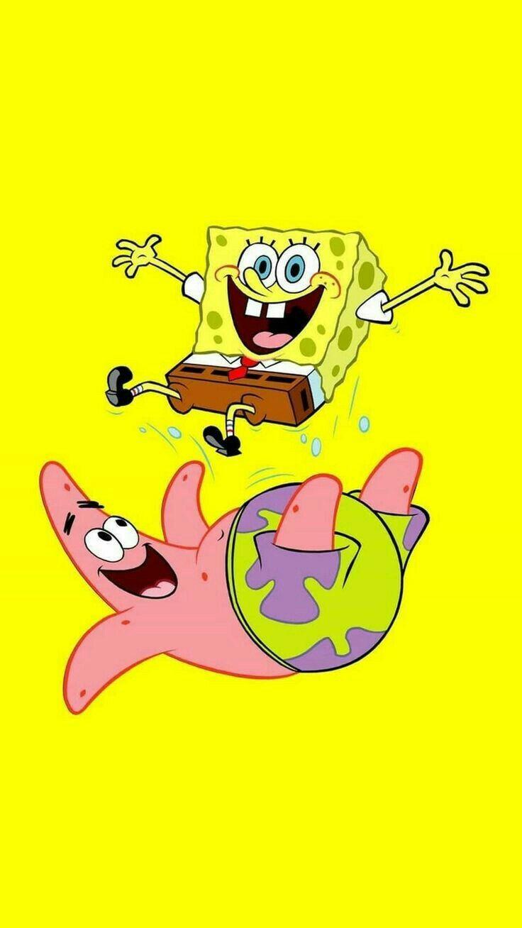 Spongebob Squarepants art wallpaper for iPhone 11pro.