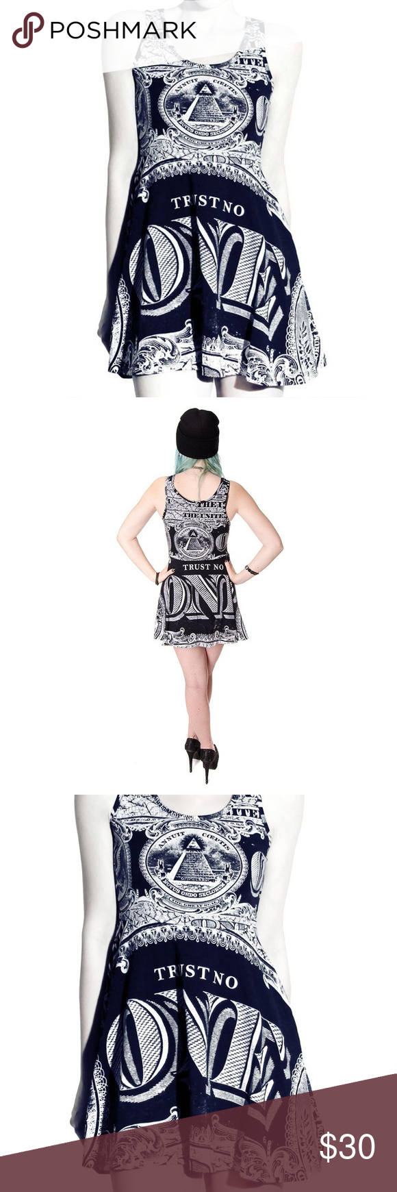 Trust No One Killstar Dress Killstar Dress Dresses Mini Dress