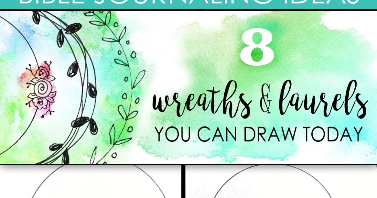Photo of Bible journal: 8 wreaths and laurels that you can draw today You can see them everywhere …