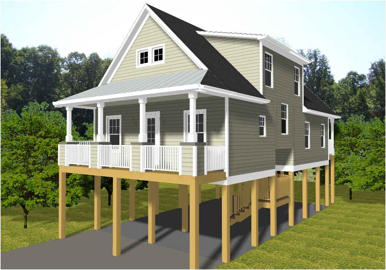Elevated Beach House Plans Australia First Class Raised House From Beach House Plans On Piers