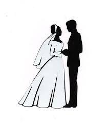 Bride Silhouette Clip Art