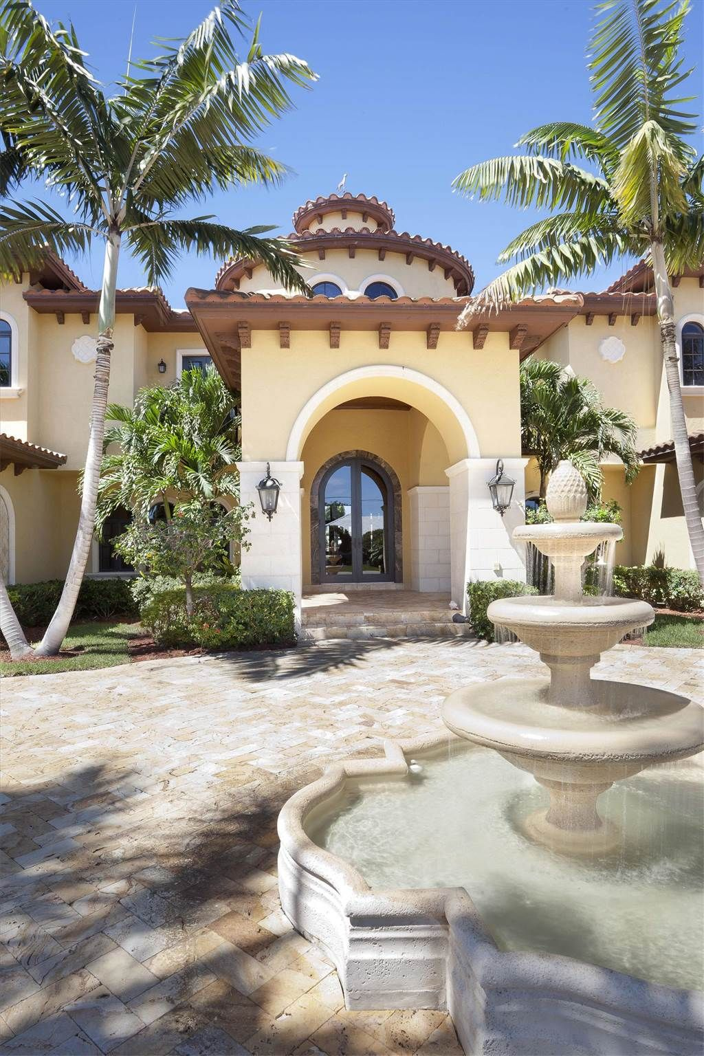Crib for sale in fort lauderdale fl - Entrance Of Luxury Home In Fort Lauderdale Florida Luxury Homes Most Beautiful Homes