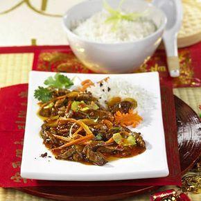 Rindfleisch Szechuan Art Rezept   LECKER #chinesemeals