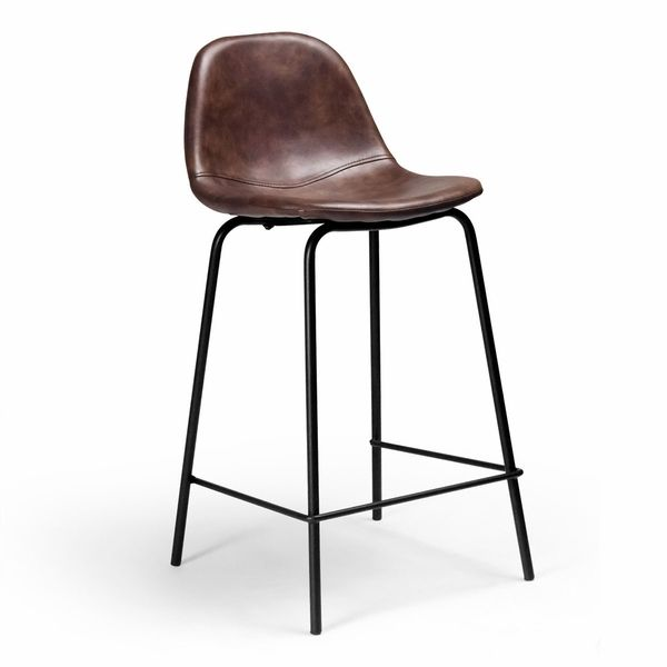Sigfred Counter Stool Leather Counter Stools Counter Stools