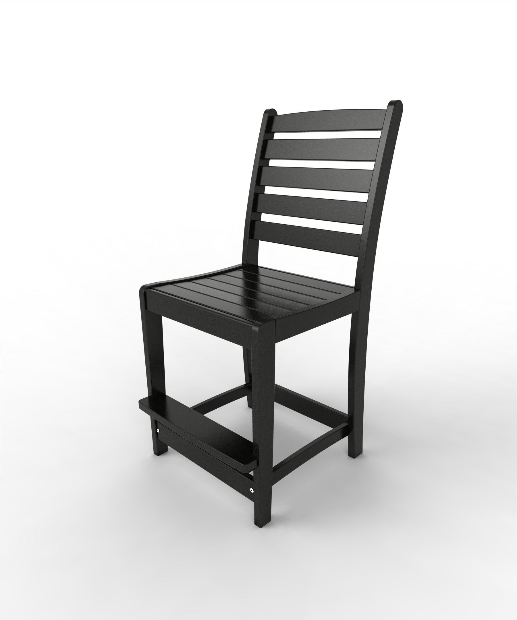 Malibu Outdoor Living Recycled Plastic Maywood Counter Side Chair