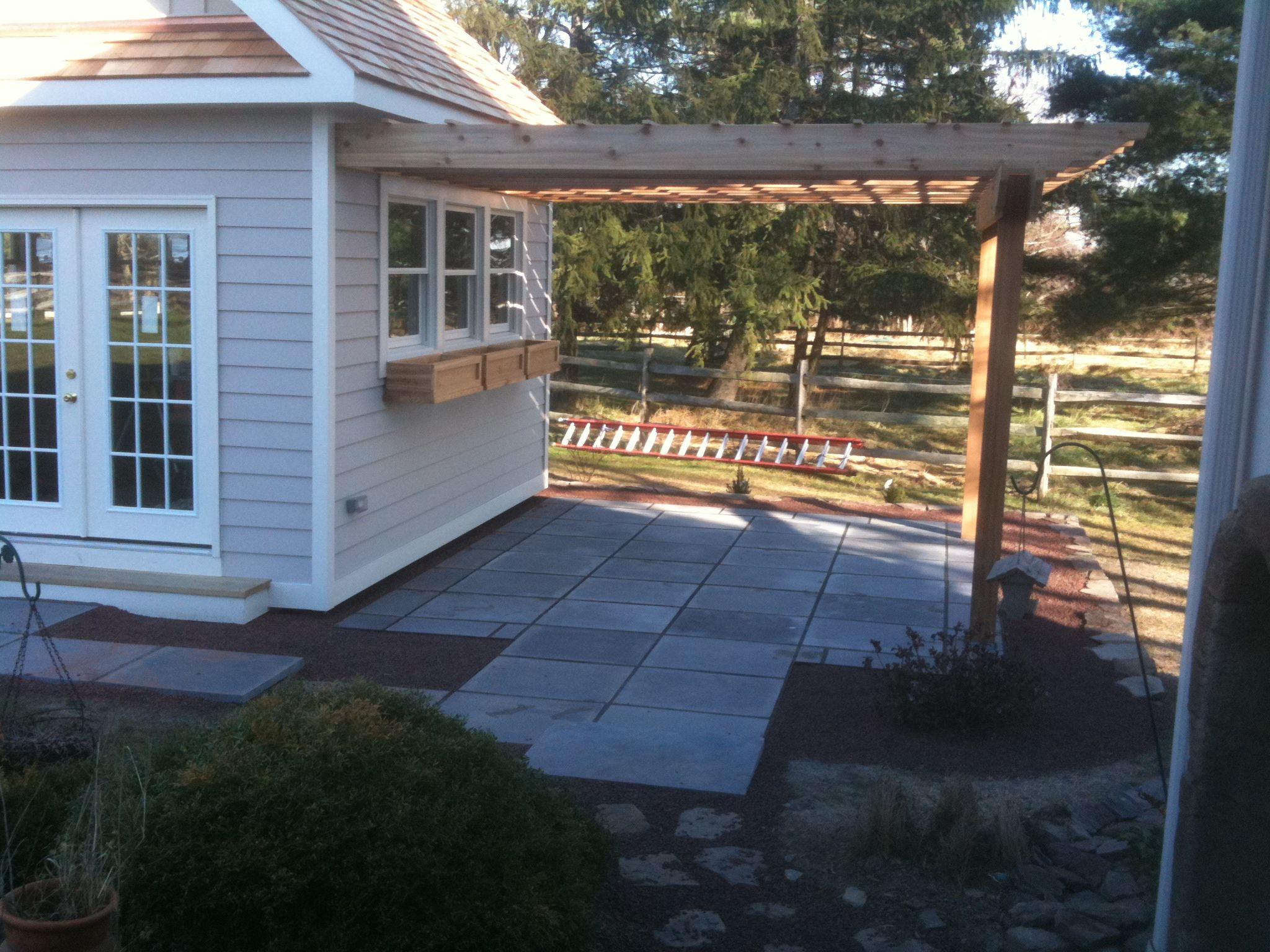 perfect arbor off of potting shed farmhouse pinterest arbors