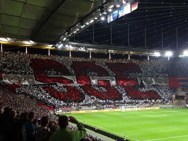 Choreo Eintracht Frankfurt