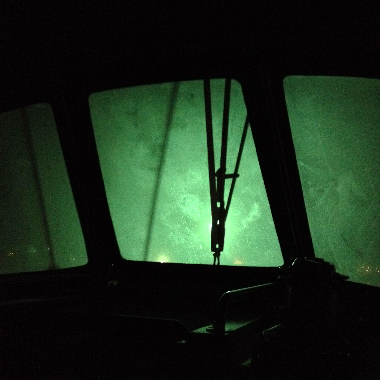 Blocks in light light blocks boat