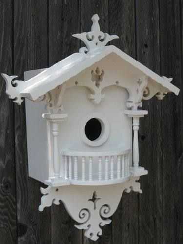 Fancy Birdhouse Decorative Bird Houses Bird House Plans Bird