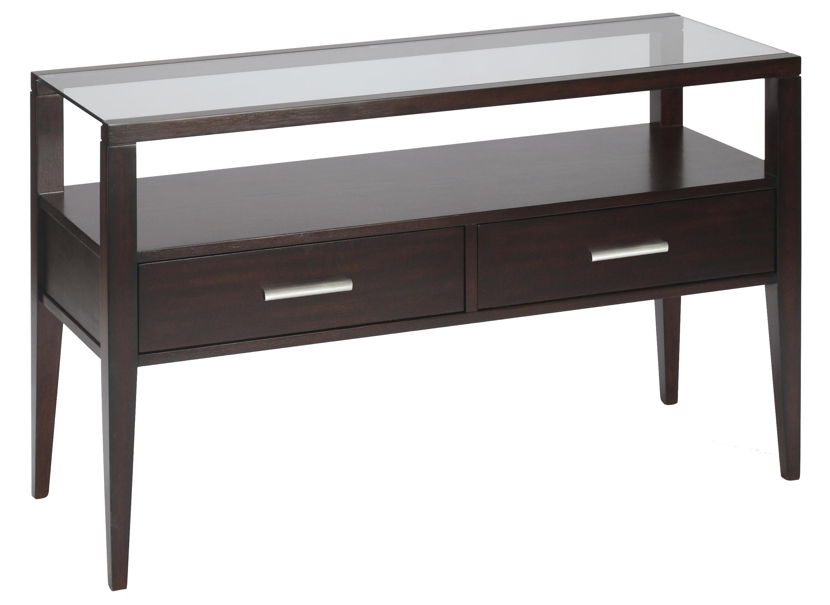 Baker contemporary sofa table with two drawers by magnussen home baker contemporary sofa table with two drawers by magnussen home gardiners furniture sofa table geotapseo Gallery