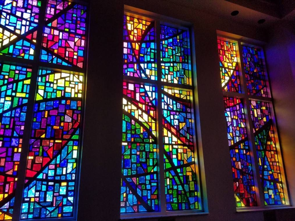 Stained Glass Windows at Philadelphia United Methodist