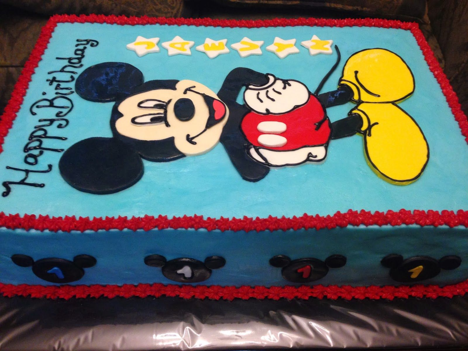 mickey mouse clubhouse sheet cakes   Google Search. Mickey Mouse Clubhouse Buttercream Sheet Cake   Holidays  6