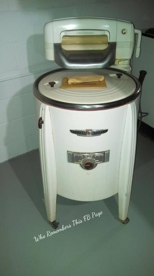 Speed Queen Wringer Washer Anything Old Vintage