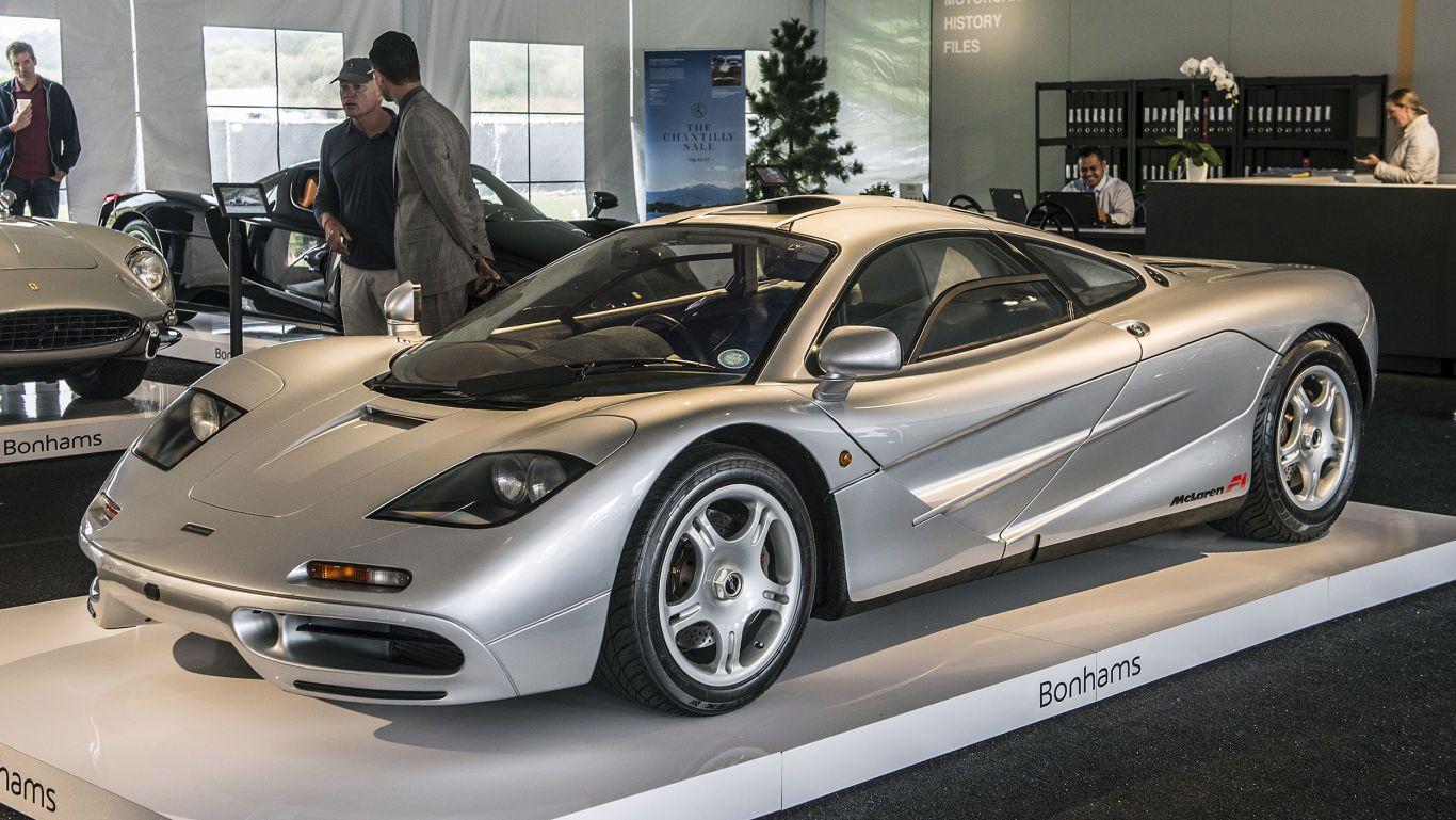 Mclaren F1 Sells For 15 62 Million At Bonhams Auction Mclaren F1 Mclaren Bonhams Auction