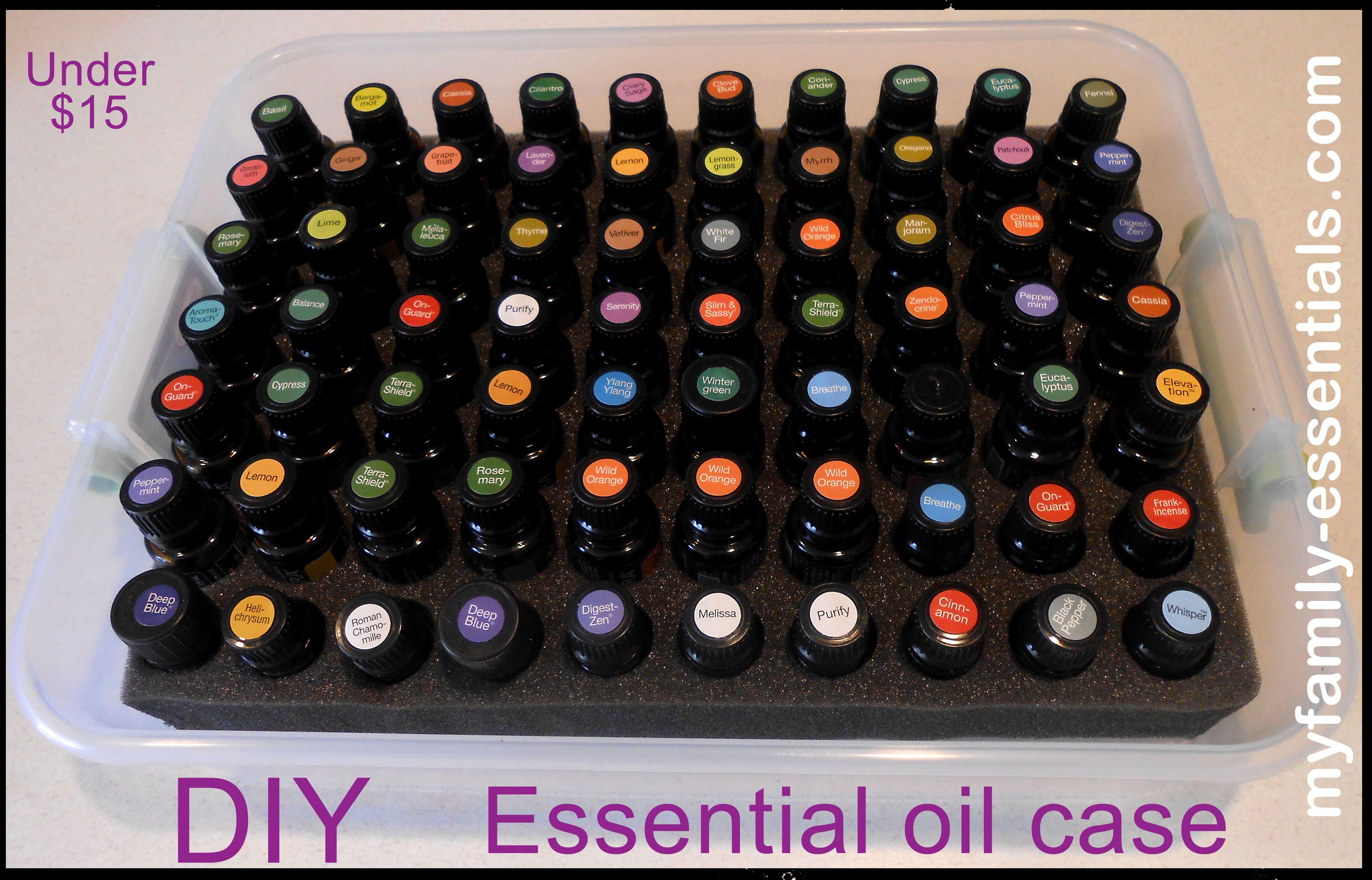 Diy Essential Oil Storage Essential Oil Resources