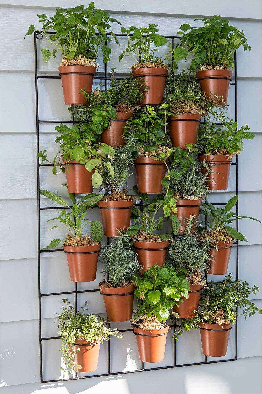 garden  outdoor  wall pot planter  big w  garden  pinterest  - garden  outdoor  wall pot planter  big w