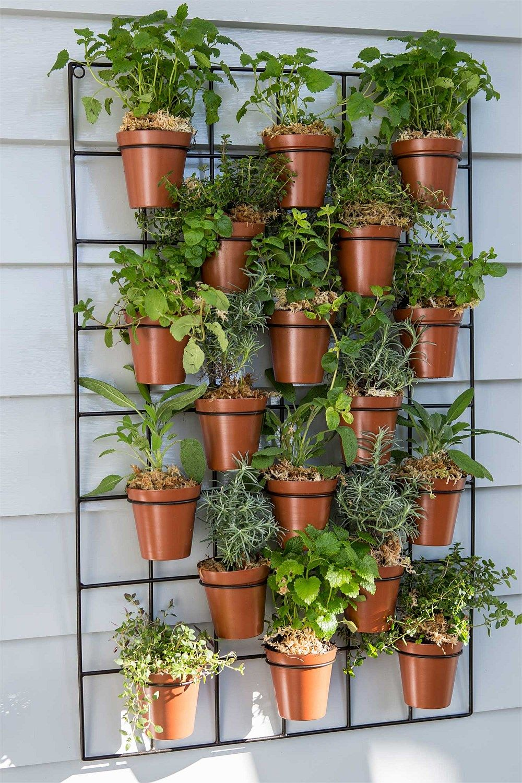 Urban wall gardening - Garden Outdoor Wall Pot Planter Big W