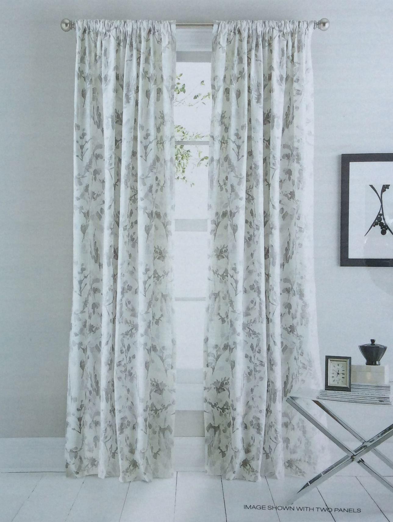 84 Cotton Curtain Panels