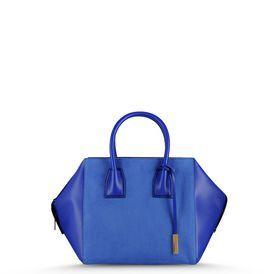 $1,385.00 Stella McCartney Beau Blue Cavendish Tote