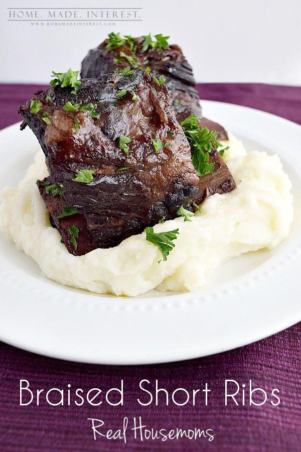 Weekly Menu Plan 15 The Recipe Critic Braised Short Ribs Recipes Beef Recipes