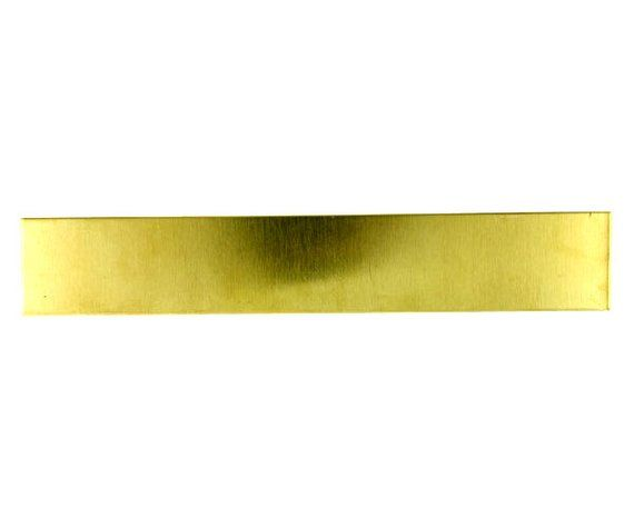 Yellow Brass Sheet 16ga 6 X 1 1 30mm Thick Yellow Brass Jewelry Model Brass