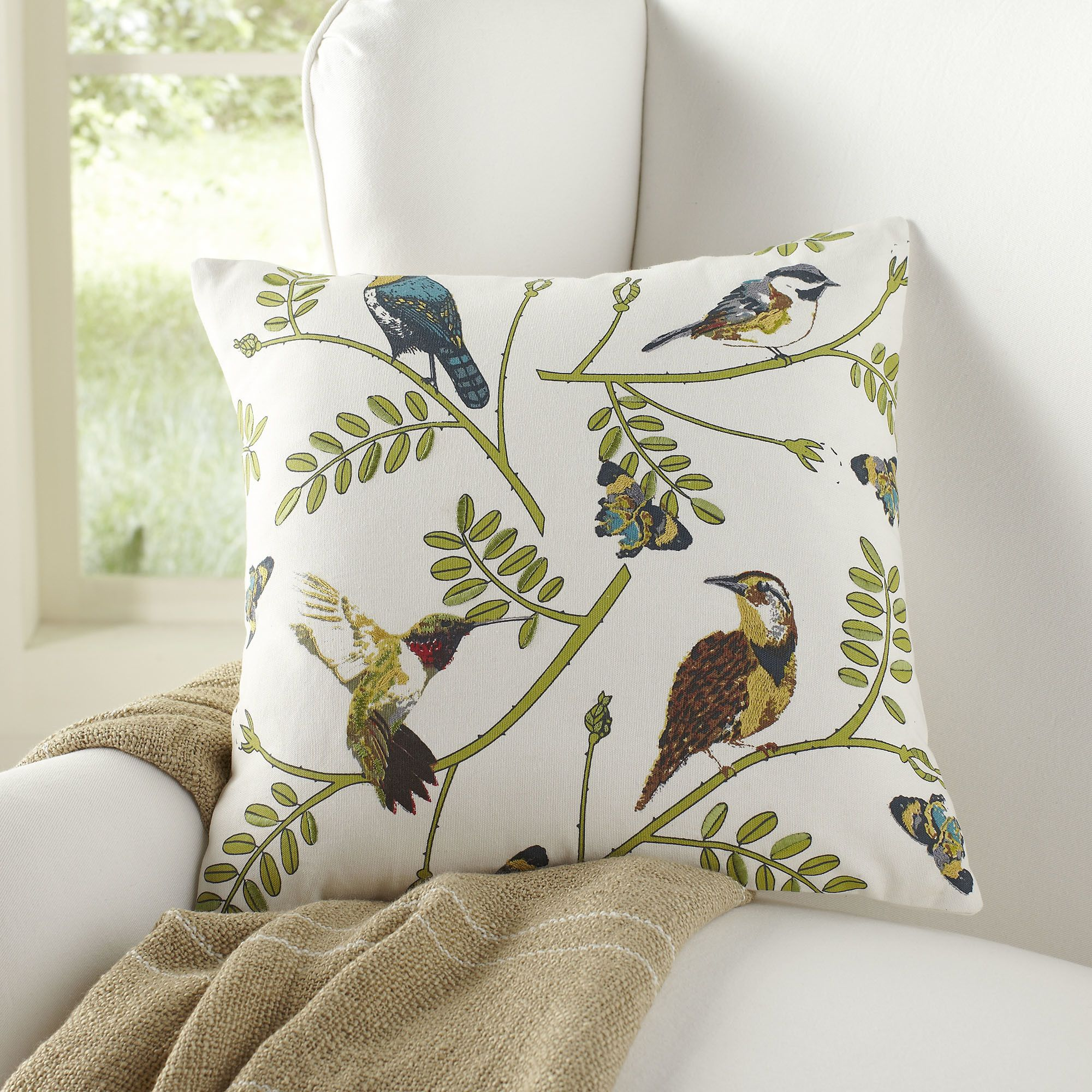 Awe Inspiring Birch Lane Martha Pillow Cover Homesteading Decorative Inzonedesignstudio Interior Chair Design Inzonedesignstudiocom