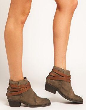 Enlarge H by Hudson Horrigan Strap Ankle Boots   Boots I Love ...