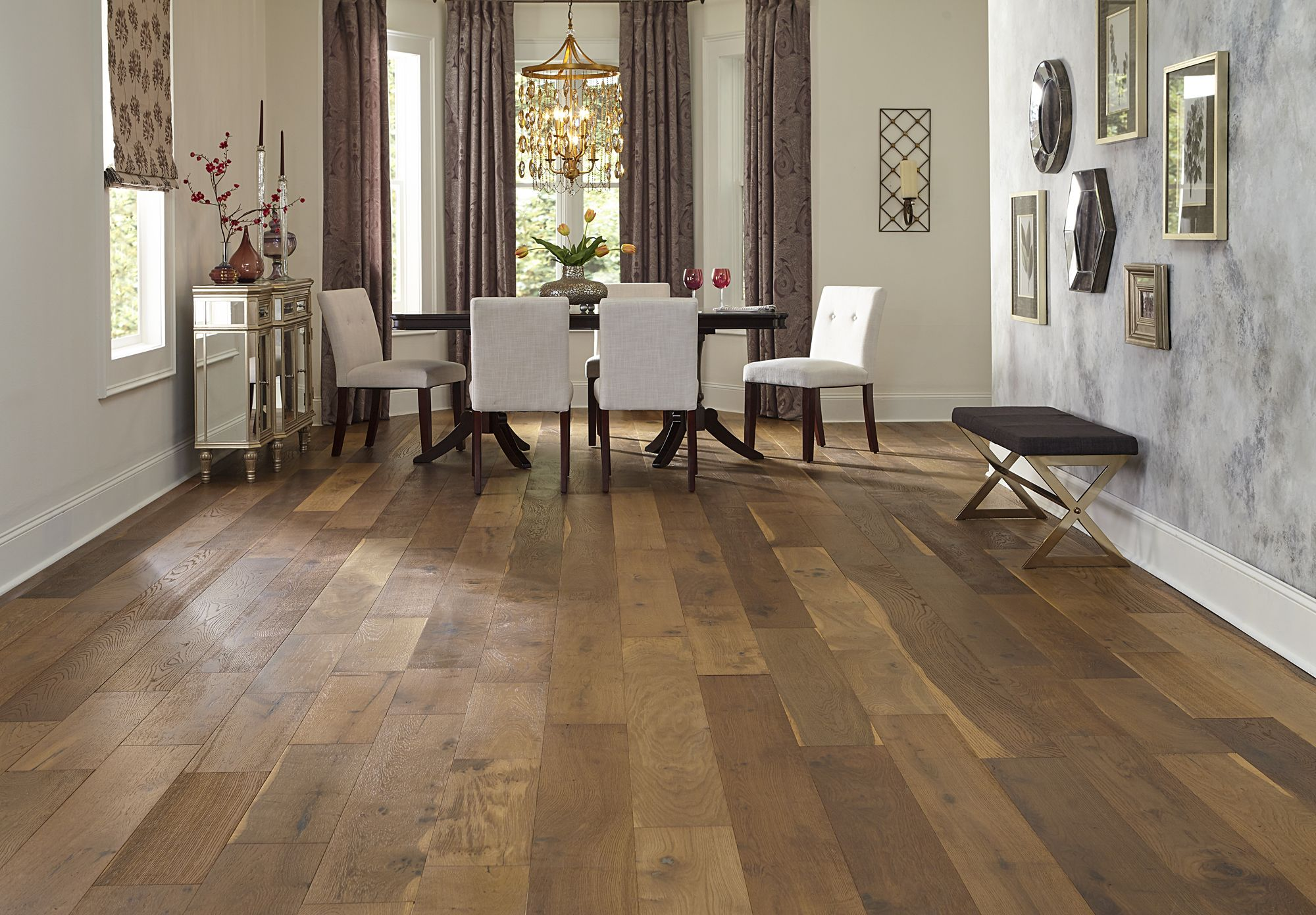 "7 1 2"" wide planks and a rustic look Bellawood Willow Manor Oak"