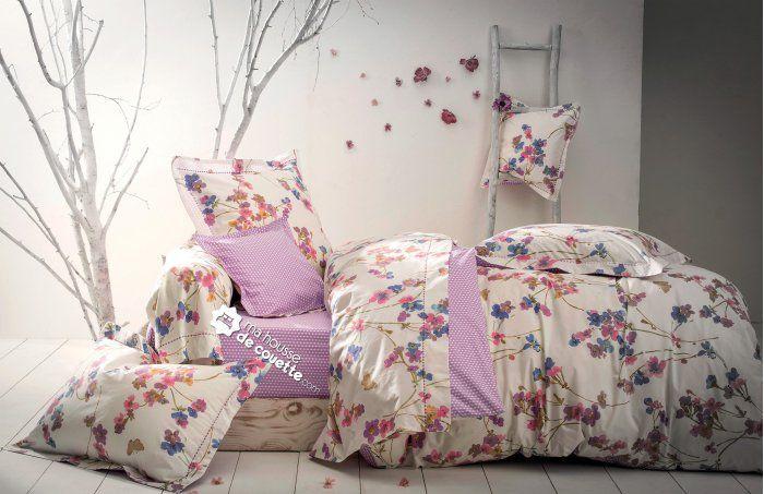 housse de couette garden dream anne de sol ne anne de. Black Bedroom Furniture Sets. Home Design Ideas
