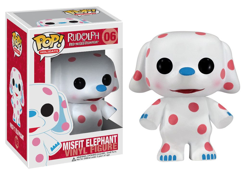 Pop! Movies: Rudolph the Red-Nosed Reindeer - Misfit Elephant | Funko