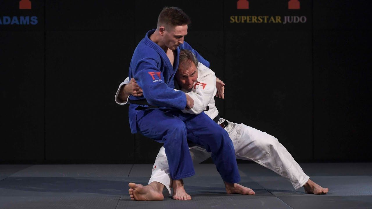 For all judokas who like to counter with tani otosho or
