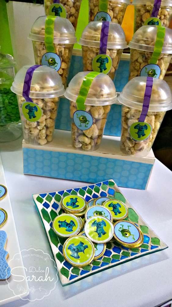 Monsters Inc Birthday Party Ideas Monsters Birthdays and Monster