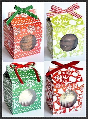 4 Gift Box Papercrafts Free Templates Download PaperCraftSquare - gift box templates free download