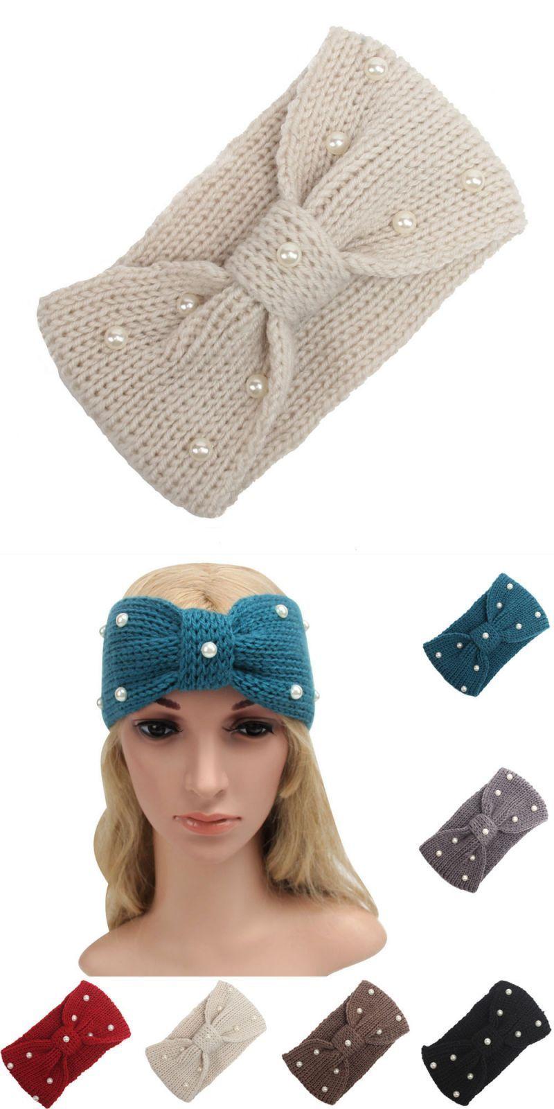 Women winter knitting headband lady hair accessories soft solid headbands  handmade girls warmer hairband  women  cotton  adult  fashion  headbands   solid   ... 5894045e2e82