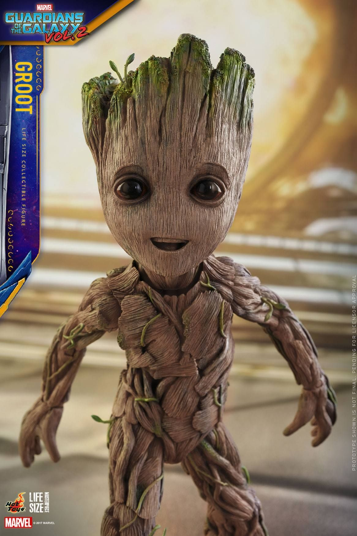 Hot Toys Life-Size Baby Groot | Marvel Comics (Everything ...