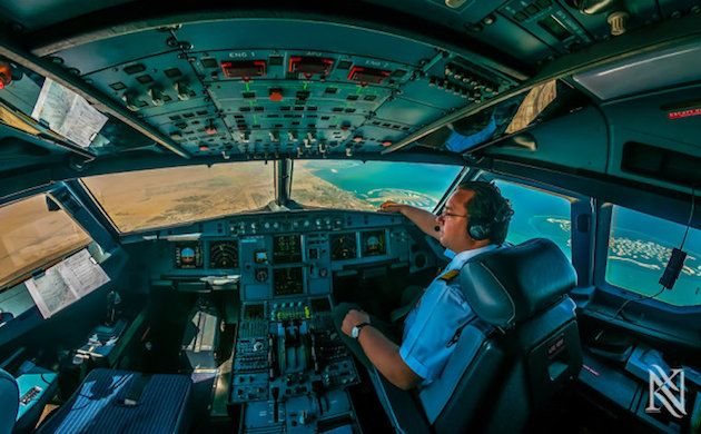 Pilot Showcases Stunning Photos Taken From Plane S Cockpit