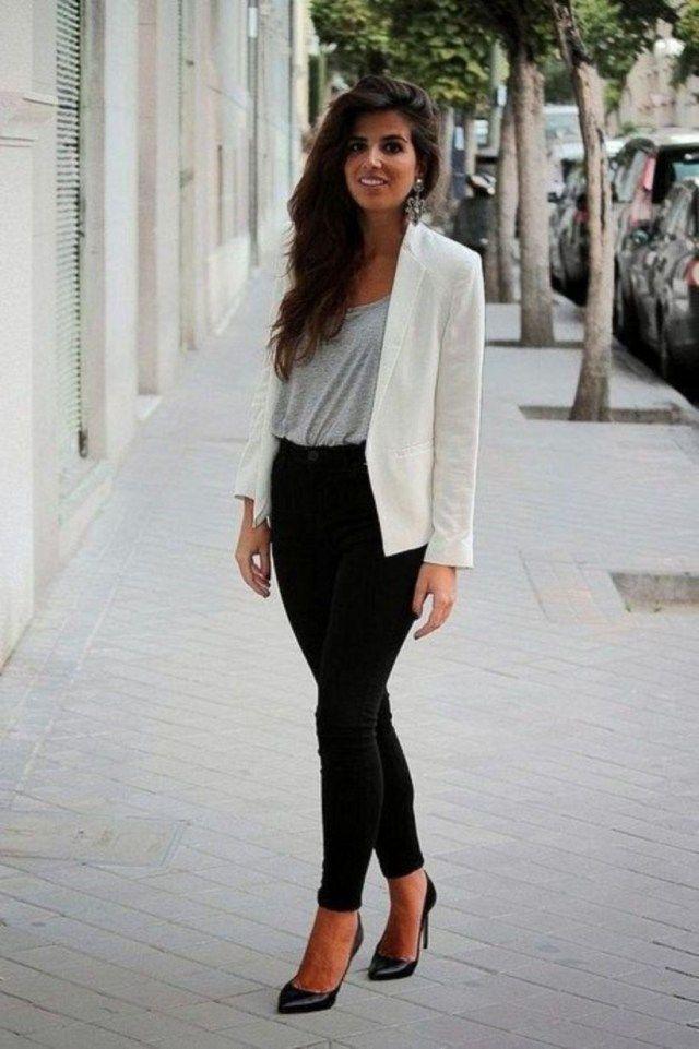 17 Möglichkeiten, ein Business-Casual-Outfit für Frauen zu ...