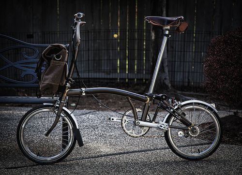 A very fancy Brompton