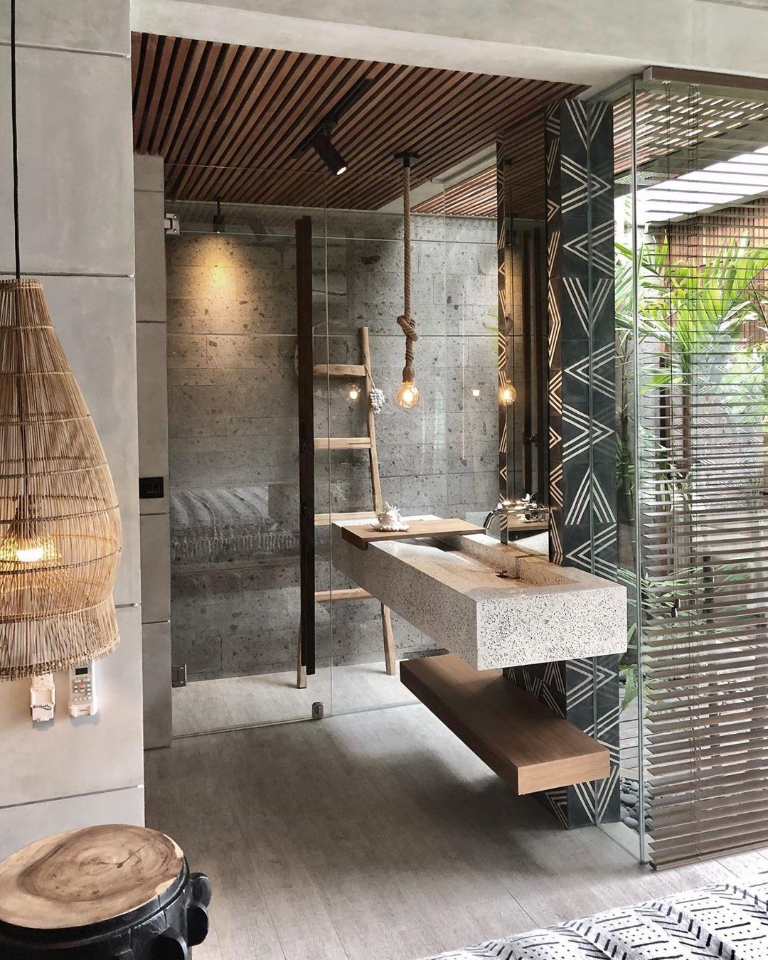 Pin On I Contemporary Balinese Interiors Bali bathroom design ideas