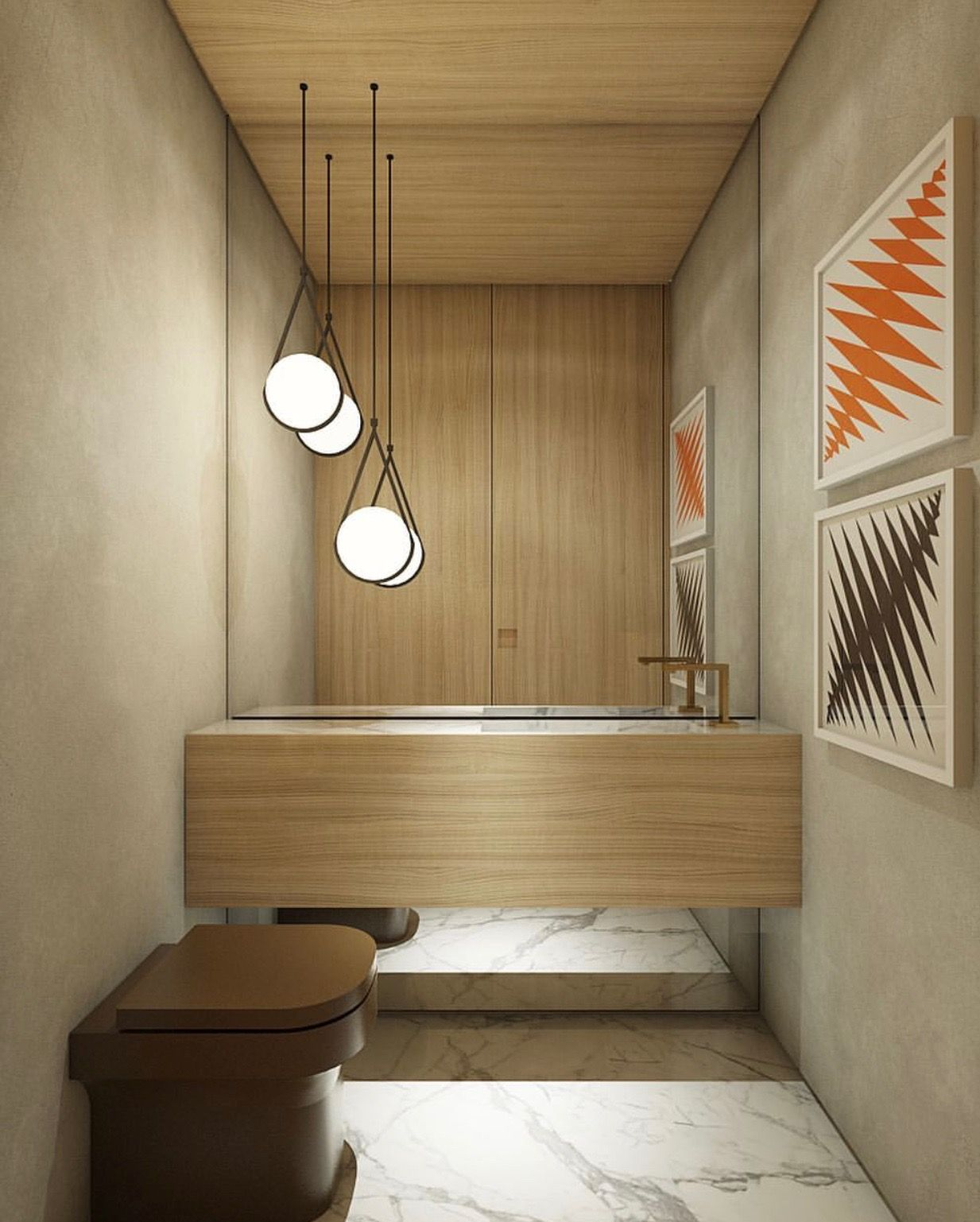all wood modern bath I Décor Aid | Bathroom Designs | Pinterest ...