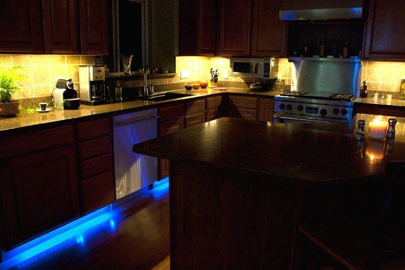 Lights Single Color Led Light Strips Bars Super Bright Kitchen Lighting Cabinet Complete