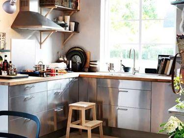 Emejing Cucine Acciaio Ikea Contemporary - Ideas & Design 2017 ...
