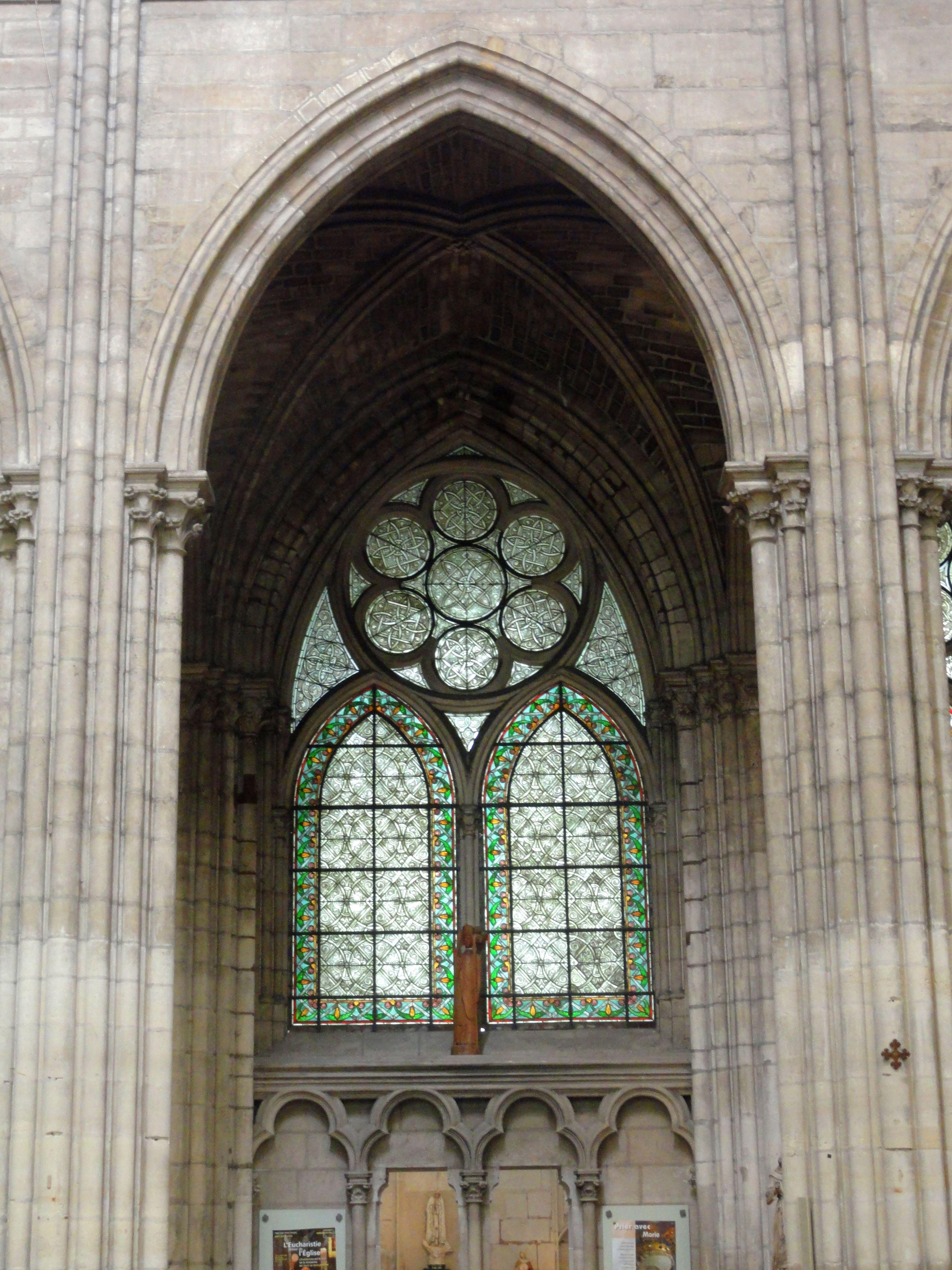 Pointed arch Pointed arch Pointed