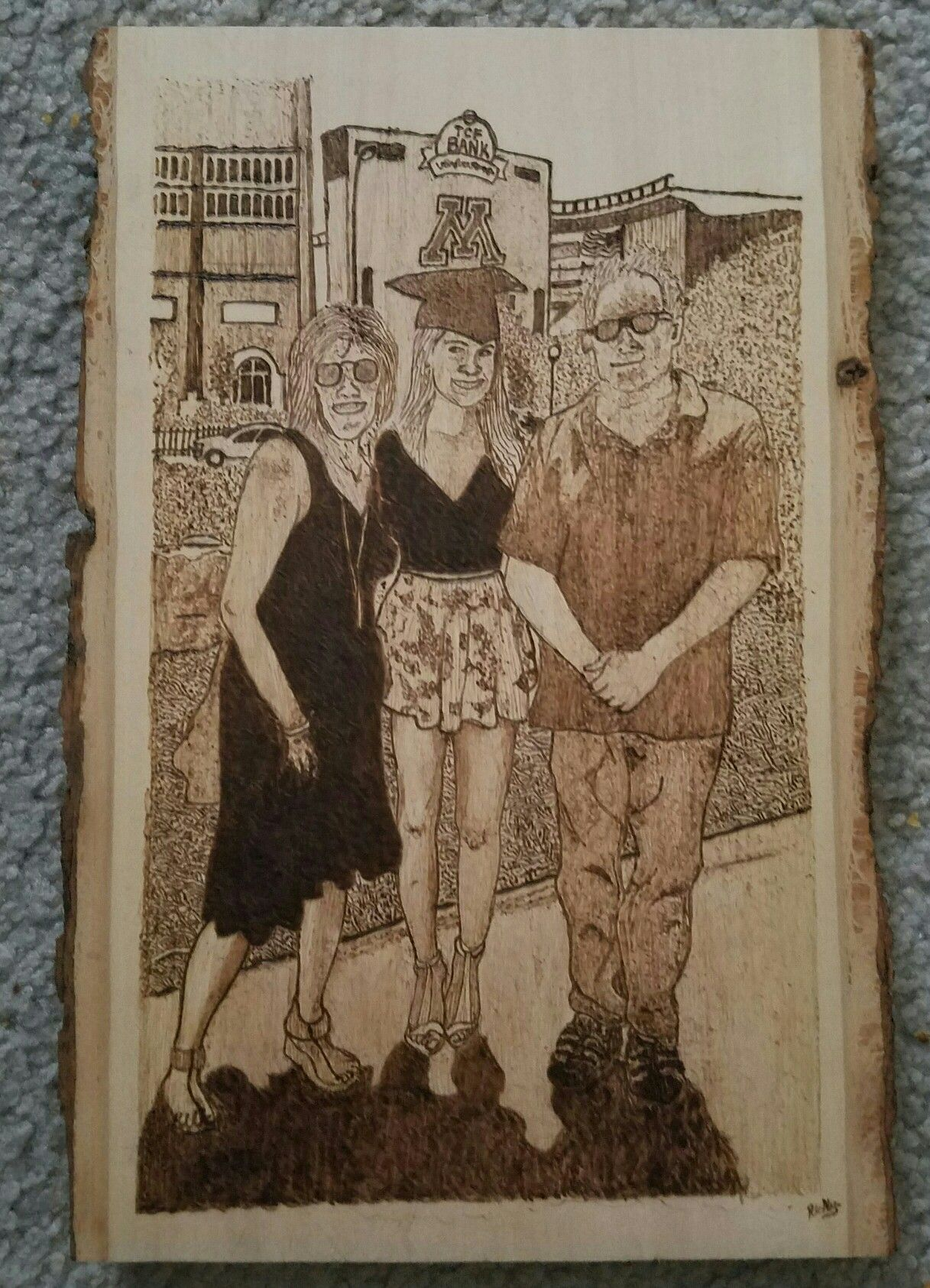 Wood burning I did for a very special friend of mine as a Christmas Present!