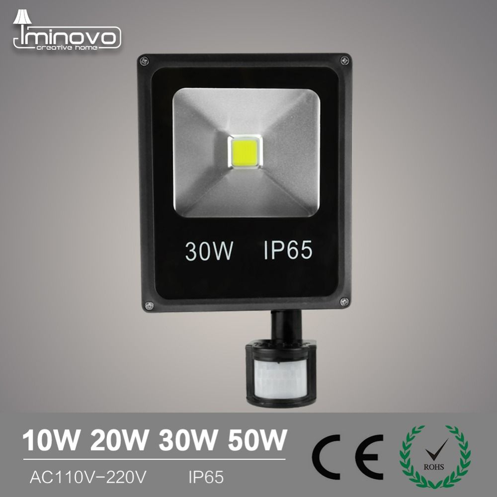 Iminovo Led 110 V 220 V Lumi Egrave Re D Inondation 10 W 20 W 30 W 50 W Mur Lampe Projecteurs Eacute Clairage Ext Eacu Flood Lights Led Flood Outdoor Lighting
