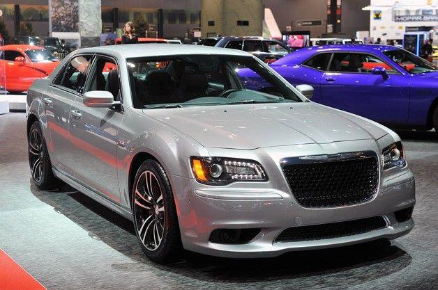 Interior 2013 Red Chrysler Srt8 300 Black